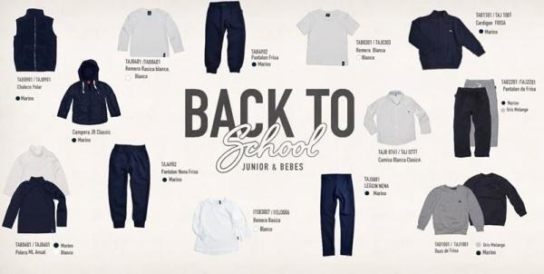 ropa para la escuela Mimo co 2015