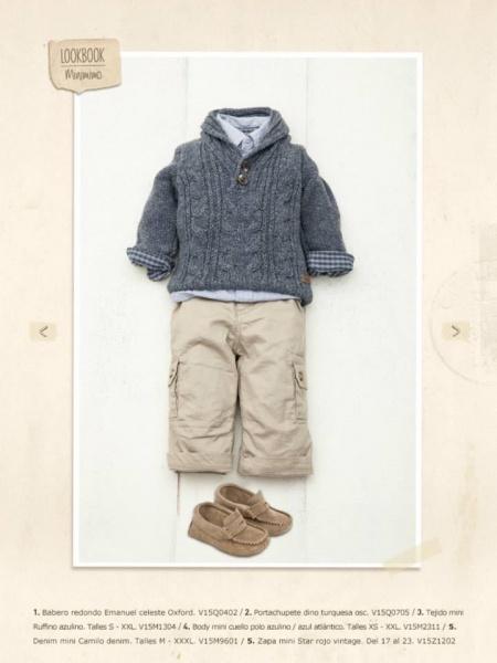 sweater y pantalon bebe invierno 2015 - minimimo