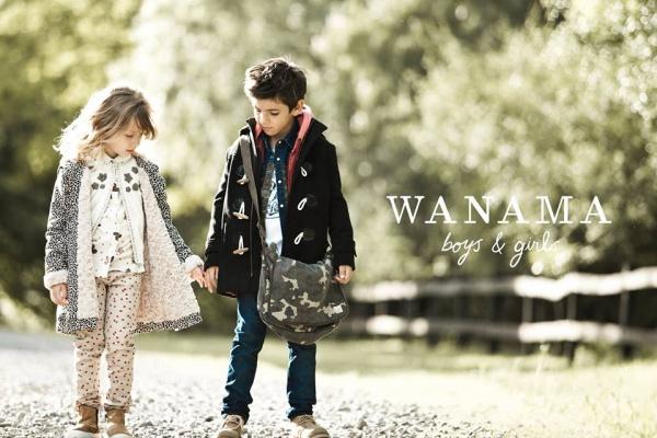 tapados infantiles  Wanama Boys & Girls otoño invierno 2015