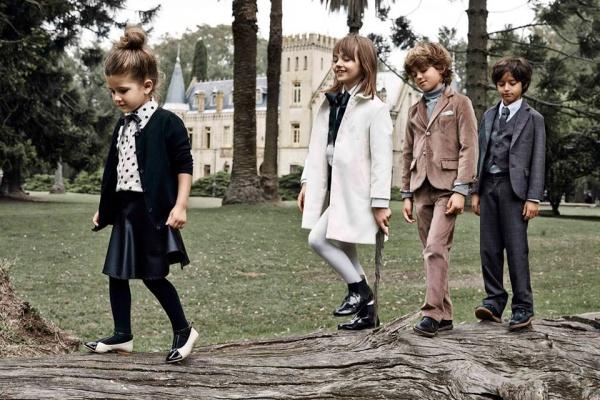 tapados y sacos infantiles Paula Cahen D Anvers Niños  otoño invierno 2015