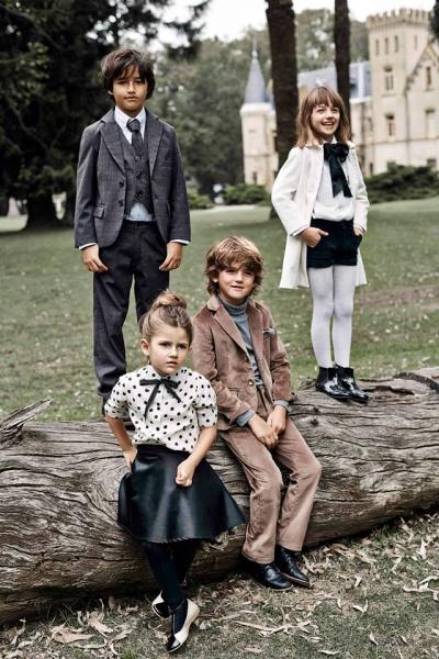 trajes para chicos Paula Cahen D Anvers Niños  otoño invierno 2015
