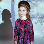 vestido de terciopelo Nucleo Moda Nenas otoño invierno 2015