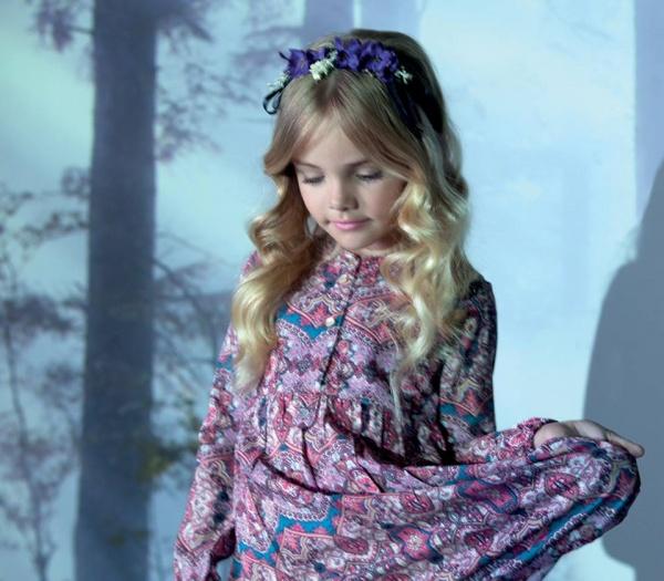 vestido mangas largas estampado Nucleo Moda Nenas otoño invierno 2015