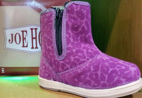 Joe Hopi botitas para nenas invierno 2015 purpura