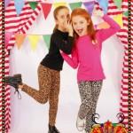 calzas animal print para nenas otoño invierno 2015 Dilo tu ropa divertida