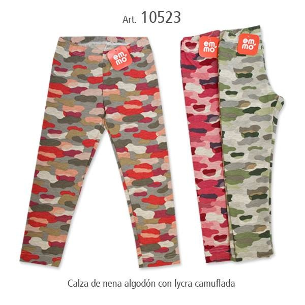 calzas infantiles camufladas - Emmo otoño invierno 2015