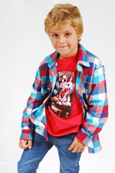 camisa con remera para chicos  invierno 2015 - TIPOTEO