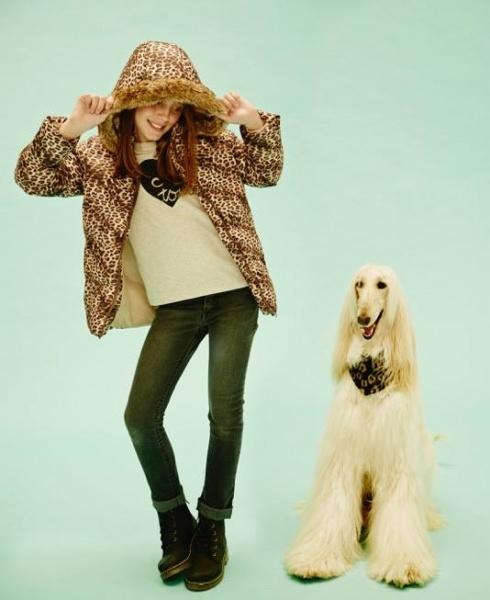 campera nimal print nenas Cheeky invierno 2015
