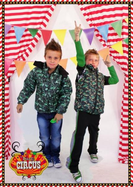 campera y chaleco camuflado para nenes otoño invierno 2015 - Dilo tu ropa divertida