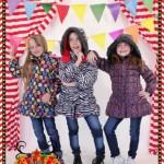 camperones estampados para nenas otoño invierno 2015 Dilo tu ropa divertida