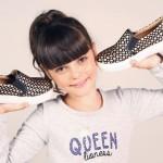 panchas doradas para nenas Ferli calzados invierno 2015