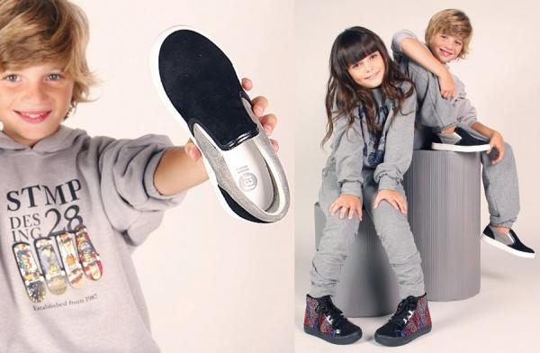 panchas para nenes y botitas con minitachas para nenas  - Ferli calzados invierno 2015