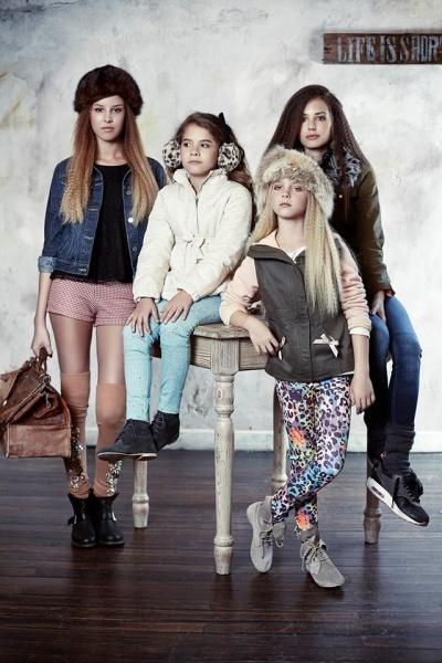 ropa para nenas - Mapamondo invierno 2015