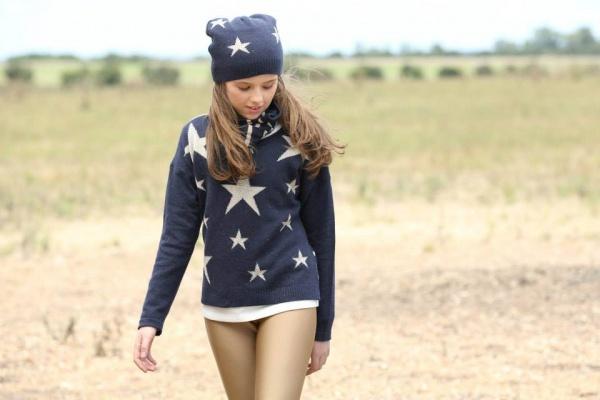sweater nenas Pioppa - Moda infantil invierno 2015