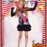 vestidos con volados para nenas otoño invierno 2015 Dilo tu ropa divertida