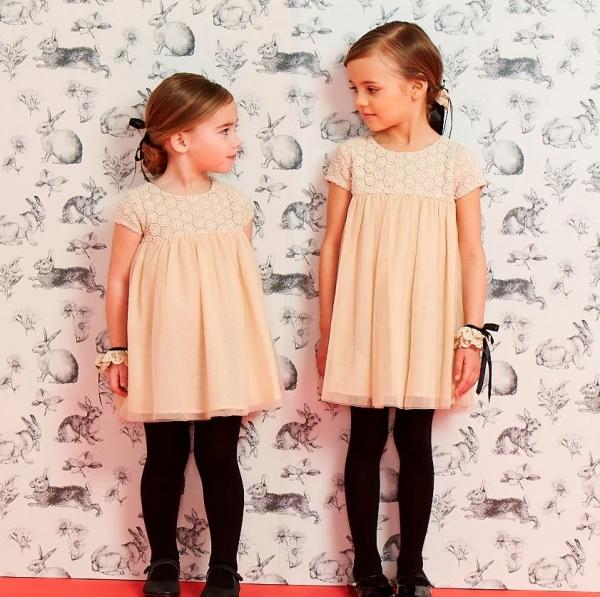 vestidos para nenas - Little Akiabara invierno 2015