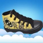 zapatillas botitas de lona para chicos invierno 2015 Plumitas
