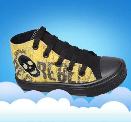 zapatillas botitas de lona para chicos invierno 2015 - Plumitas