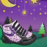 zapatillas botitas para bebes invierno 2015 Plumitas