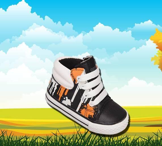 zapatillas botitas para chicos invierno 2015 Plumitas