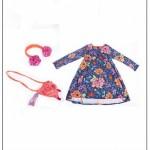 Vestido estampado para niñas by Zuppa chicos