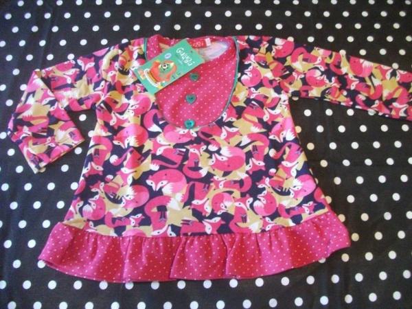blusa para nenas estampadas Gulubu otoño invierno 2015