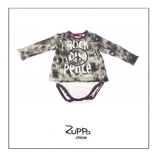 body mangas largas para bebe  otoño invierno 2015 by Zuppa chicos