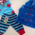 body y campera de plush para bebe Gulubu otoño invierno 2015