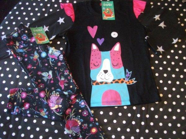 calza estampada para nenas Gulubu otoño invierno 2015