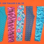 calzas estampadas para nenas flow kids invierno 2015