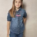 camisa de jeans para nenas Rapsodia Kids invierno 2015