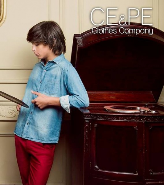 camisa jeans y pantalon de colores varon  otoño invierno 2015 CE PE