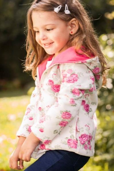 campera estampado floreado para nenas  - Magdalena Esposito otoño invierno 2015