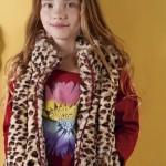 chaleco animal print para nenas otoño invierno 2015 B WAY