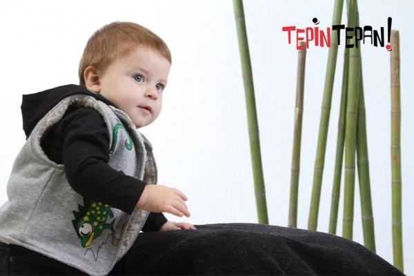 chaleco bebe Tepin tepan otoño invierno 2015