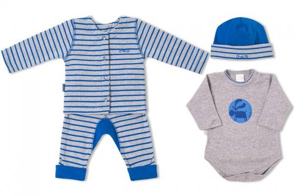 conjunto estampado para bebe varon GdeB - moda para bebes invierno 2015