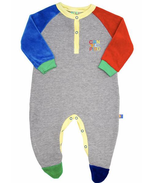 enterito algodon para bebe otoño invierno 2015 - Cante Pido