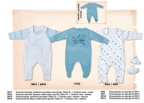 enteritos para bebes varones  - Pilim otoño invierno 2015