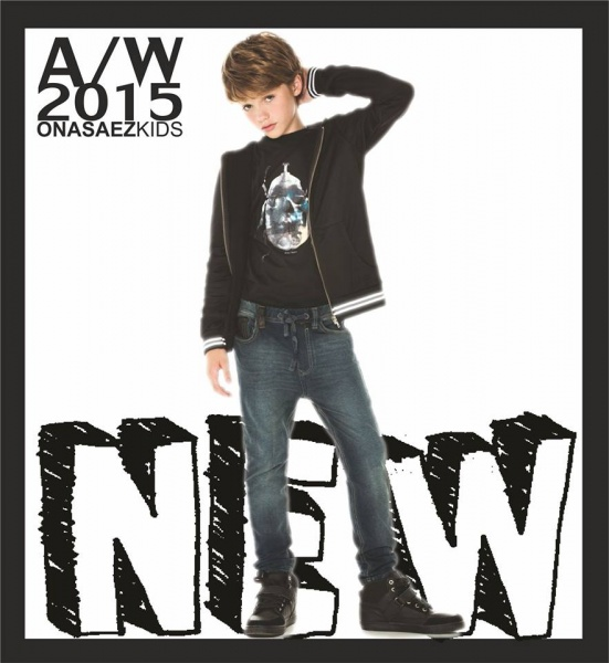 jeans para chicos Otoño Invierno 2015 en Ona Saez Kids