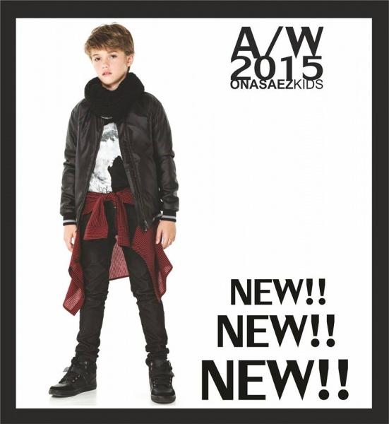 look rocker para chicos  Otoño Invierno 2015 en Ona Saez Kids