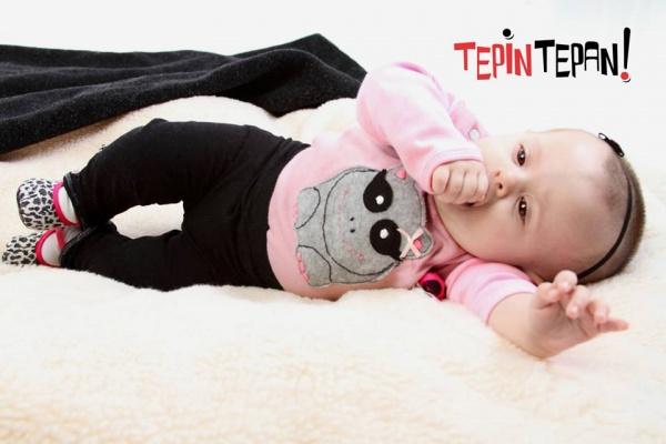 remera mangas largas bebe nena - Tepin tepan otoño invierno 2015