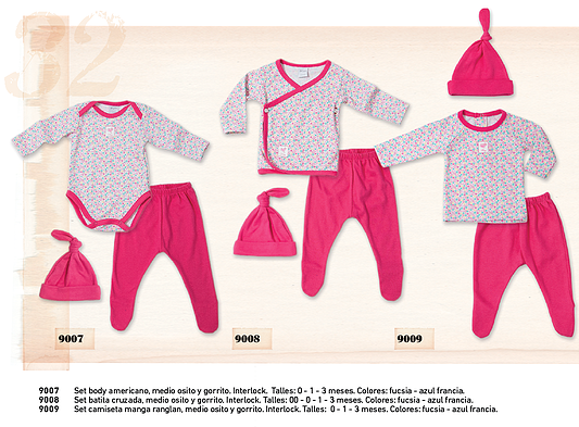 c10ce480a ropa interior para bebes nenas Pilim otoño invierno 2015 – Minilook