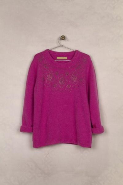 sweater fucsia para nenas - Rapsodia Kids invierno 2015