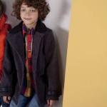 tapado gris para nenes otoño invierno 2015 B WAY