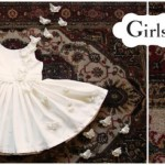 vestido blanco Girls boutique