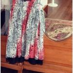 vestido de fiesta estampado para nenas otoño invierno 2015 Girls boutique