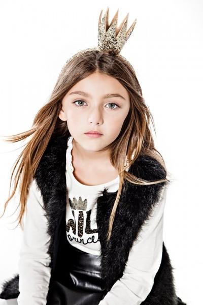 So Cippo - chaleco pelo para nenas otoño invierno 2015