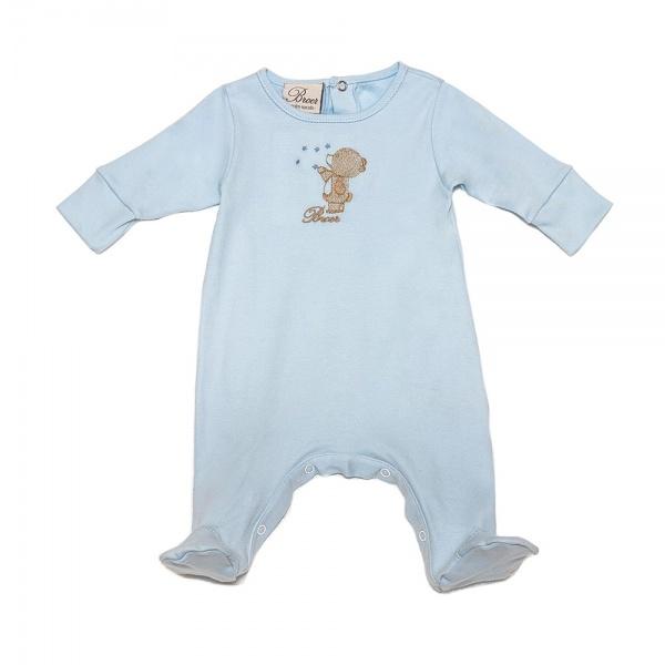enterito de algodon celeste para bebes - BROER invierno 2015