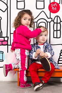moda para niños  invierno 2015 - Soft Red