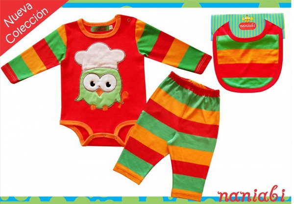 ropa color para bebes invierno 2015 Naniabi